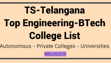 top btech college list